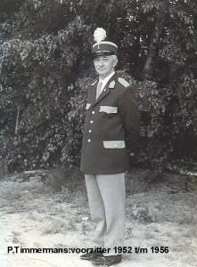 P.Timmermans 1952 tm 1956