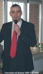 Voorzitter R.Rutten 2005 tm 2008